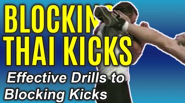 Survive a Kick Boxer | How to Easily Block Kicks | Self Defense Technique | FightFast