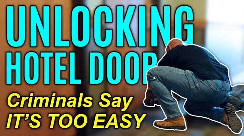 Criminals Can Open any Hotel Door with This | Travel Security - Home Security | FightFast