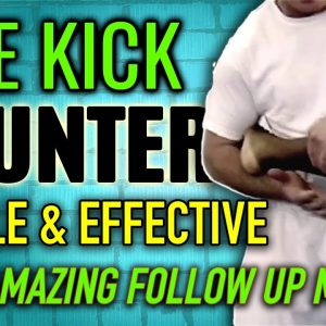 Counter Attack to Side Kick • Self Defense Move • FightFast