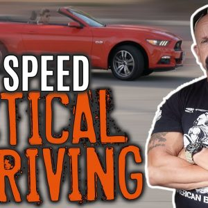 High Speed Driving (Steering v Braking Traction) | Technical Driving | Survival | FightFast
