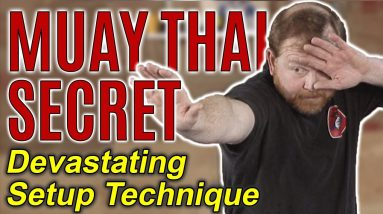 Critical Muay Thai Kick Setup | Leaning Out Your Opponent | Self Defense Moves | FightFast